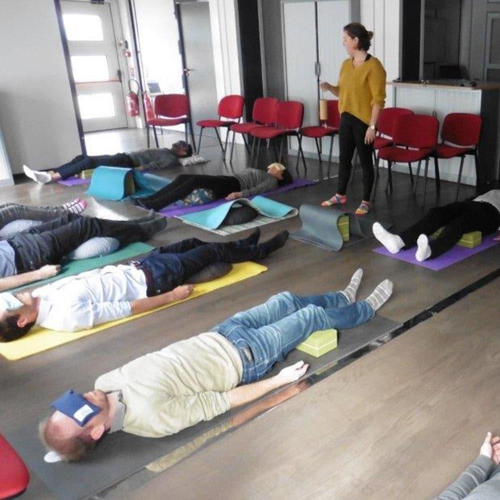 Gestion du stress au (télé)travail par le yoga et la respiration