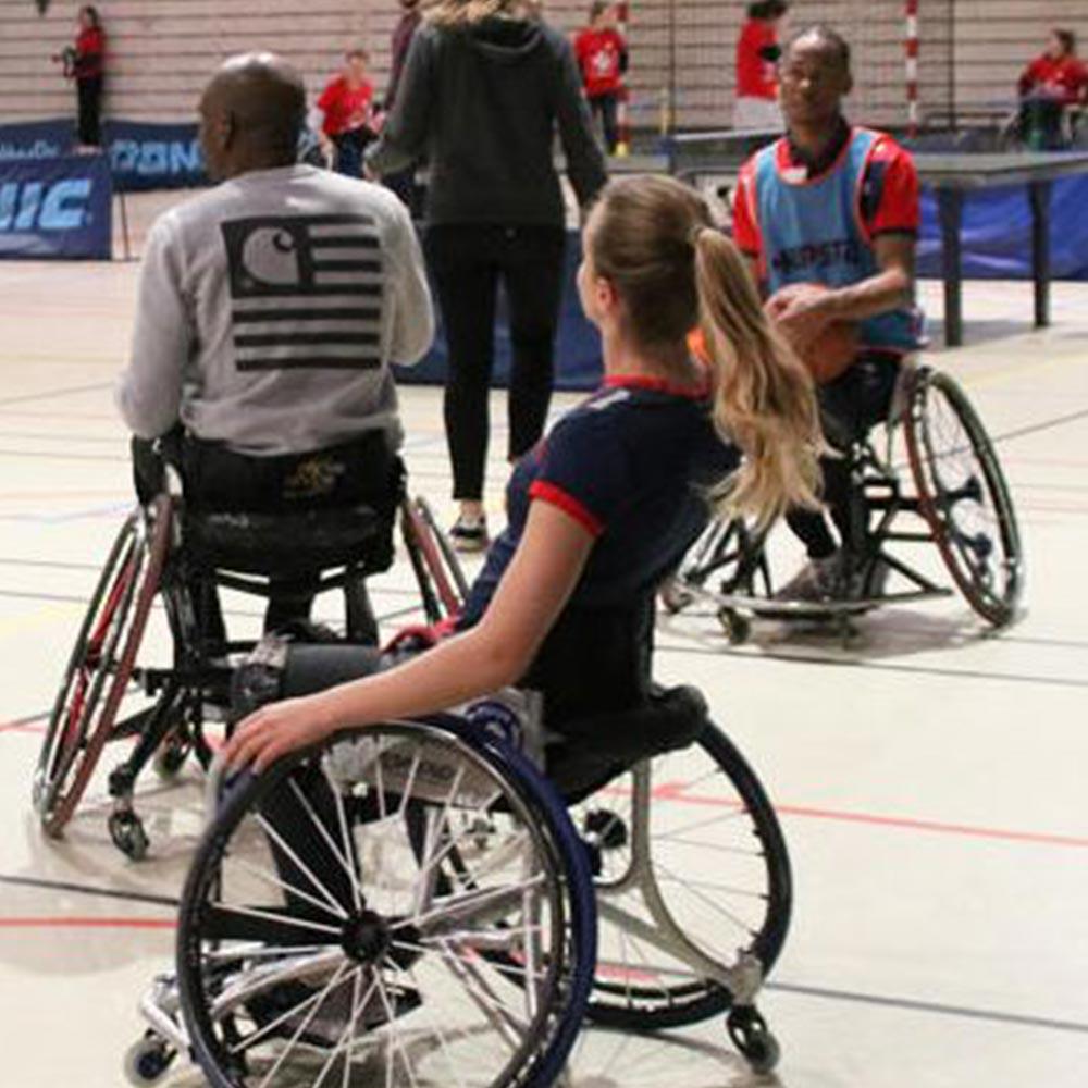 Atelier « Découverte du handicap par le sport »